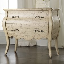 Melange L'Inspiration Script 2 Drawer Chest