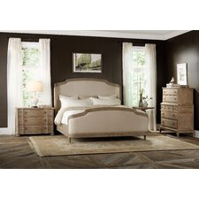 Corsica Upholstered Shelter Bedroom Collection