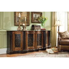 87in. Shaped Credenza