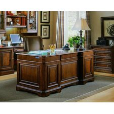 "<strong>Hooker Furniture</strong> Brookhaven 72"" W 7 Drawer Executive Desk"
