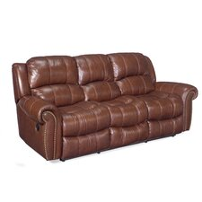 Leather 2 Reclining Sofa