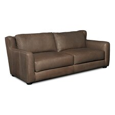 Stationary Leather Sofa