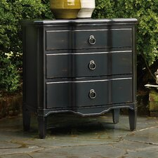 3 Drawer Shaped Front Chest