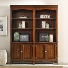"Latitude Bunching 81"" Shelf Bookcase"