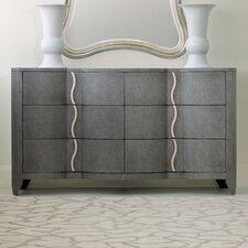 Melange Lana 6 Drawer Dresser