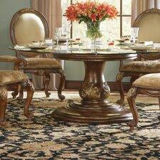 "Beladora 72"" Round Glass Top Table"