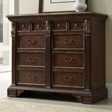 8 Drawer High Waisted Chest