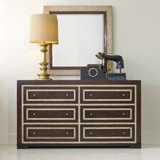 Melange Bukhara 6 Drawer Dresser