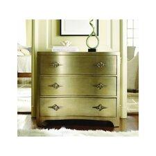 Sanctuary 3 Drawer Shaped Front Dresser