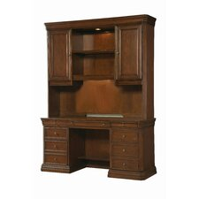 Cherry Creek Writing Desk with Wall End Unit