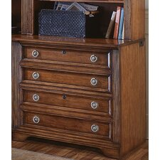"<strong>Hooker Furniture</strong> Brookhaven 32"" Lateral File in Medium Clear Cherry"