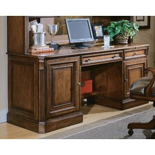 Brookhaven Executive Desk with Center Drawer