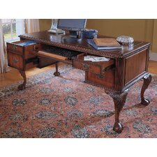 "Bedford Row 60"" W Ball / Claw Writing Desk Set"