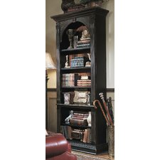 "Seven Seas 85"" H Black Bookcase"