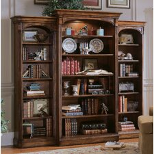 "Brookhaven 82"" H Bookcase in Medium Clear Cherry"