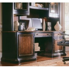 Preston Ridge Credenza with Hutch