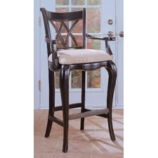 "<strong>Hooker Furniture</strong> Preston Ridge 24.75"" Bar Stool with Cushion"
