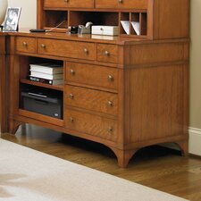 <strong>Hooker Furniture</strong> Abbott Place Credenza Printer Unit in Clear Natural Cherry