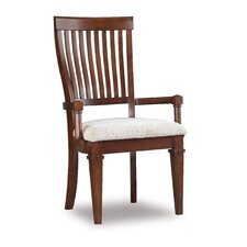 <strong>Hooker Furniture</strong> Abbott Place Slat Back Arm Chair