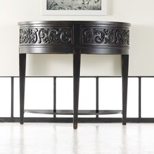 Melange Damasque Demi Console Table