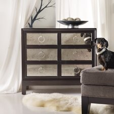 <strong>Hooker Furniture</strong> Melange 6 Drawer Mirrored Front Chest