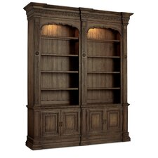 "104.5"" Double Bookcase"
