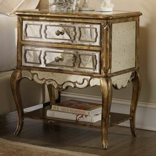 <strong>Hooker Furniture</strong> Sanctuary 2 Drawer Nightstand