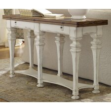 Chic Coterie Flip Top Console Table