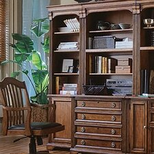 "<strong>Hooker Furniture</strong> Brookhaven Left 78.25"" Bookcase"