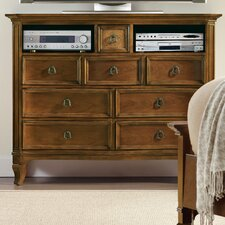 Windward 8 Drawer Media Chest