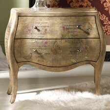 Melange Le Papillon 2 Drawer Chest