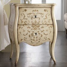 <strong>Hooker Furniture</strong> Melange Ariana Hand Painted 2 Drawer Chest