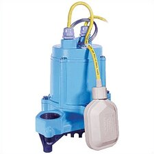 "1/3 HP 1.5"" Eliminator High Temperature Submersible Effluent Pump"