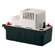 1/50 HP 1/2 Gallon ABS Automatic Condensate Removal Pump