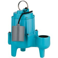 4/10 HP 9SN-CIA-RF Automatic Sewage Pump with 20' Power Cord