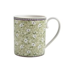 <strong>Denby</strong> Monsoon Daisy 8.5 Oz. Can Mug