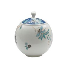 Monsoon Veronica 0.5 Oz. Covered Sugar Bowl with Lid