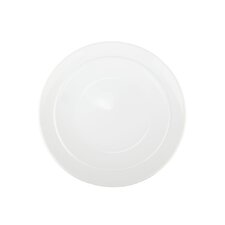 "White by Denby 9"" Coupe Salad Plate"
