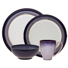 <strong>Denby</strong> Heather 4 Piece Boxed Place Setting