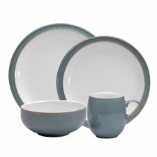 <strong>Denby</strong> Azure 4 Piece Boxed Place Setting