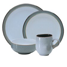 <strong>Denby</strong> Jet 4 Piece Boxed Place Setting