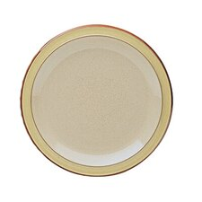 "Fire 9"" Cream / Yellow Salad Plate"