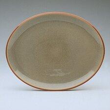 "Fire 14"" Oval Platter"