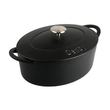 <strong>Denby</strong> Cook and Dine 4.2 Liter Cast Iron Oval Casserole