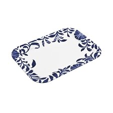 "Malmo and Malmo Bloom Small 10"" Rectangle Platter"