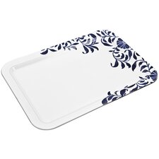 "Malmo and Malmo Bloom Large 14.5"" Rectangle Platter"