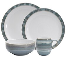 <strong>Denby</strong> Azure Coast 4-Piece Place Setting