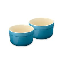 Cook and Dine Azure Oven to Table 10 Oz. Ramekin and Souffle