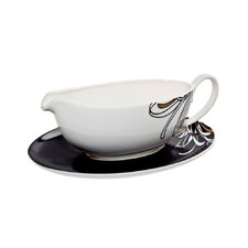 Chrysanthemum 10 oz. Sauce Boat and Stand