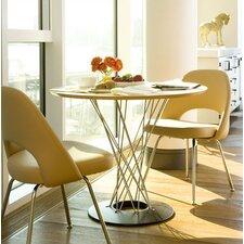 <strong>Knoll ®</strong> Noguchi Cyclone™ 3 Piece Dining Table with Saarinen Executive Chairs